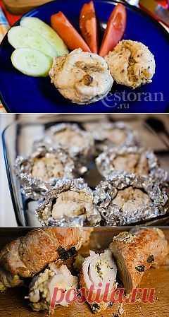 Рецепт куриного филе фаршированного грибами