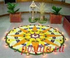 Сегодня 13 сентября памятная дата Фестиваль Онам в Индии