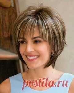 Шикарные прически на короткие и средней длины волосы | Женские темы