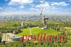 Сегодня 15 октября в 1967 году Состоялось торжественное открытие памятника-ансамбля «Героям Сталинградской битвы» на Мамаевом кургане
