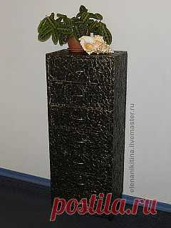 высокий комод из картона - Ярмарка Мастеров - ручная работа, handmade