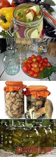 Закатки, заготовки на зиму. Рецепты варенья и других зимних домашних заготовок