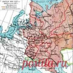 Сегодня 18 ноября в 1775 году Издан манифест о новом областном делении России — империя разделилась на 50 губерний