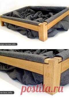Кровать для любимого четырехлапого, где он может дурачиться, закутываться и делать все, что ему хочется.