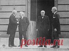 Сегодня 28 июня в 1919 году Подписан Версальский мирный договор, официально завершивший Первую мировую войну