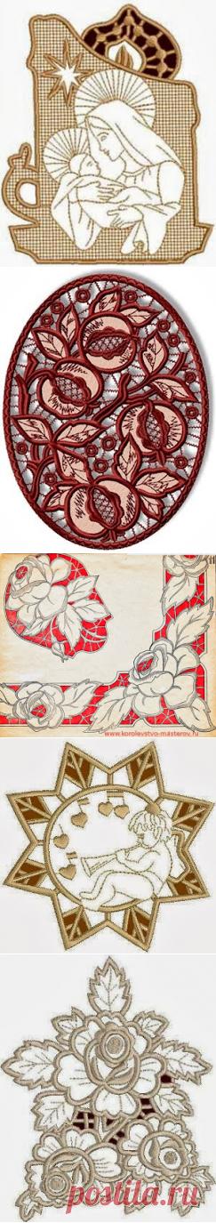 """La colección de las estampas: los patrones De ostentación """"ришелье"""""""
