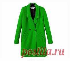Выкройка прямого пальто