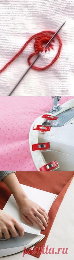 Большая подборка интересных швейных хитростей