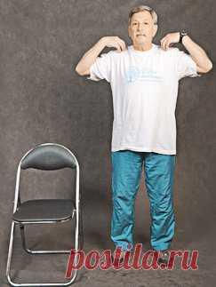 Гимнастика для пожилых: 20 простых упражнений | Вязальный роман | Яндекс Дзен