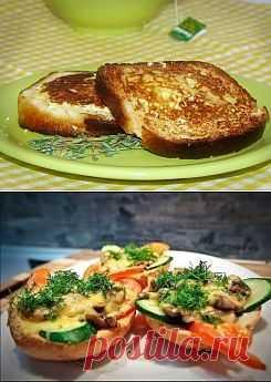 Горячие бутерброды - разнообразим меню?