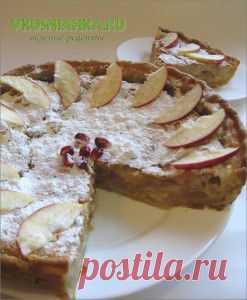 пирог песочный с яблоками, пирог с яблоками с фото | Вкусные рецепты