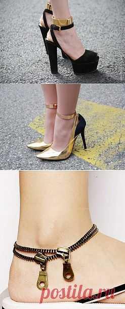 Позолоти ножку! (2 DIY) / Украшения и бижутерия / Модный сайт о стильной переделке одежды и интерьера