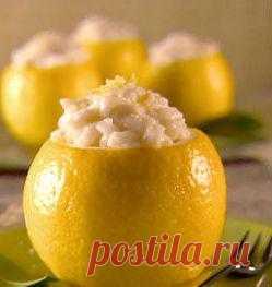 Ризотто с лимоном и сливками