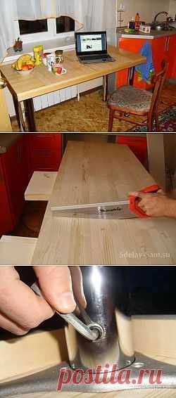(+1) - Кухонный стол делаем своим руками (лучше и дешевле покупного) | МАСТЕРА