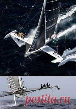 Самый быстрый в мире парусник, и транстихоокеанский рекорд скорости