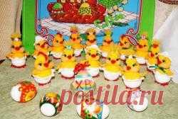 Пасхальные цыплятки - МК по вязанию игрушек - Форум почитателей амигуруми (вязаной игрушки)