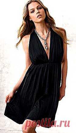 ШКОЛА ШИТЬЯ: Маленькое черное платье выкройка от Анастасии Корфиати