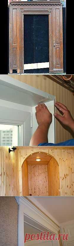 Как отделать дверной проем | Дачные дела