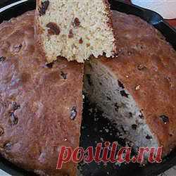 Рецепт: Ирландский хлеб с изюмом - все рецепты России