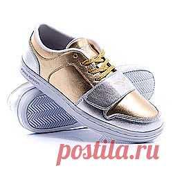 Купить Кеды Creative Recreation Cesario Lo Gold Silver: Обувь - Интернет-скейтшоп Proskater.ru
