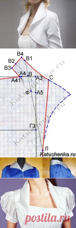 Выкройка воротника апаш | Катюшенька Ру — мир шитья