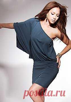 Асимметричное платье / Простые выкройки / Модный сайт о стильной переделке одежды и интерьера