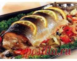 Рыбные блюда, рецепты приготовления . Милая Я