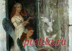 Играют ангелы на струнах наших душ... Художница Анжелика Привалихина. Картины художницы Анжелики Привалихиной, удивительные, глубокие, чувственные, помогут отвлечься от повседневных забот, отдохнуть душой, наполниться волшебным настроением, красками и красивыми чувствами, потому что они сами душевны и полны красоты…