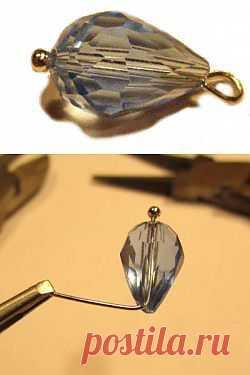 Домашняя волшебница - Мастер-класс МК Как сделать петельку из штифта (автор nairsa)