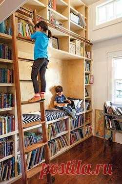Книги в детской