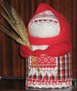 Кукла Крупеничка - оберег на богатство и достаток в доме.