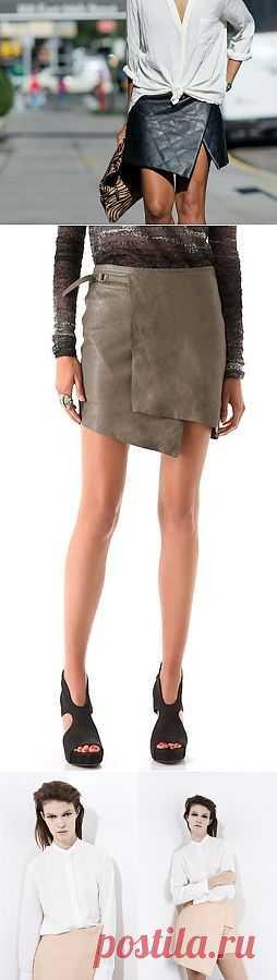 """Юбки """"из жакета"""" - большая подборка для вдохновения / Юбки и их переделки / Модный сайт о стильной переделке одежды и интерьера"""