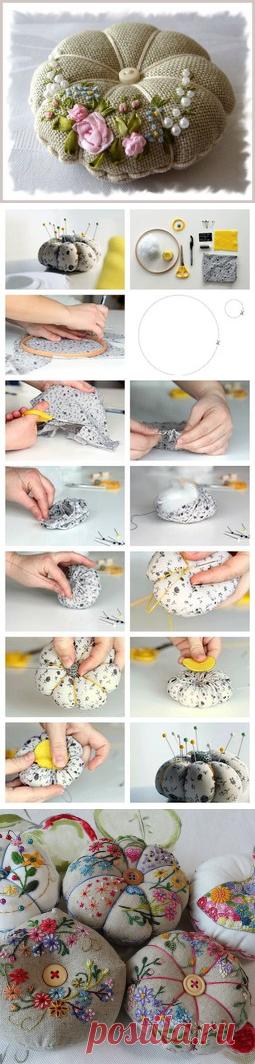 Игольницы. подборка. — Сделай сам, идеи для творчества - DIY Ideas