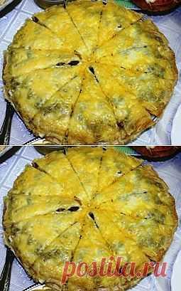 Блинный торт с грибами. Комментарии