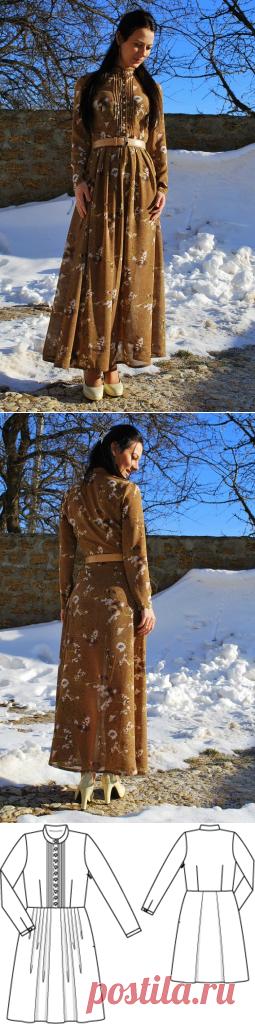 Платьице / Fibber / 03.02.2015 / Фотофорум на BurdaStyle.ru