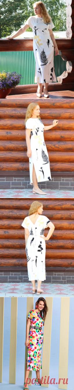 Платье с чертополохами / Elena Leo / 14.08.2019 / Фотофорум на BurdaStyle.ru