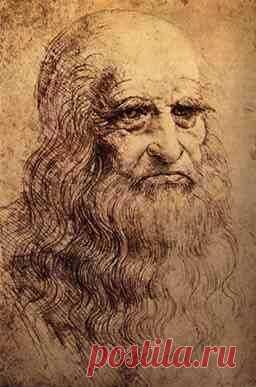 Leonardo da Vinci - self portrait   |   Pinterest: инструмент для поиска и хранения интересных идей