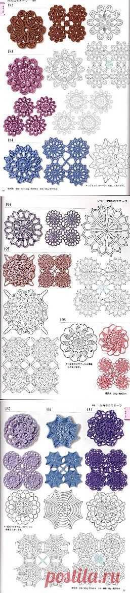 Tita Carré - Agulha e Tricot : Motivos em Crochet