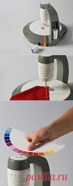 Швейная машина – принтер / Креатив / Модный сайт о стильной переделке одежды и интерьера