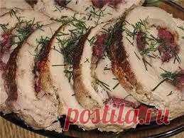 Очень вкусный мясной рулетик получается! Обязательно попробуйте приготовить!