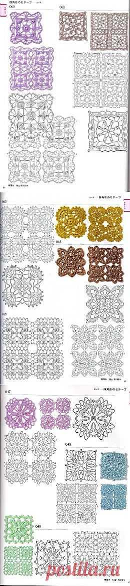 Tita Carré - Agulha e Tricot : Motivos em Crochet 2