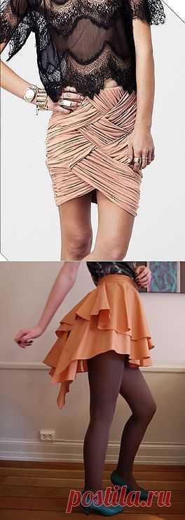 Юбки / Юбки и их переделки / Модный сайт о стильной переделке одежды и интерьера