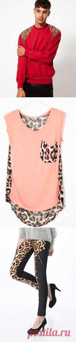 Леопардовые детали (подборка) / Тенденции / Модный сайт о стильной переделке одежды и интерьера