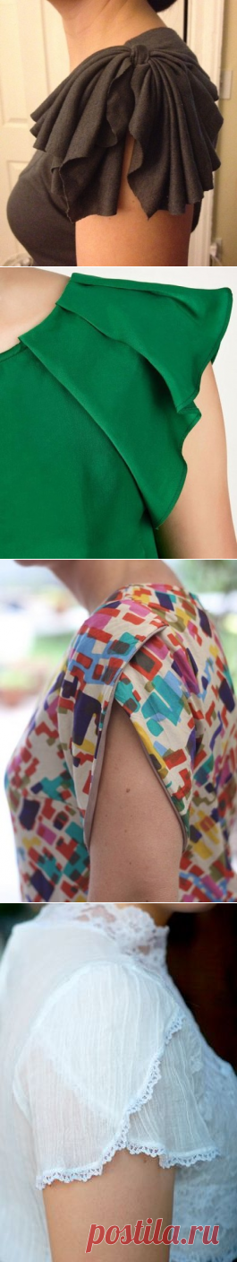 Such different sleeves and shot sleeves... ideas