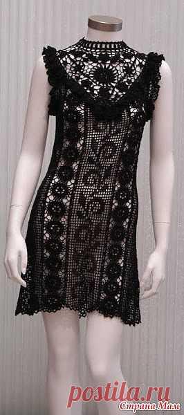 """Платье Mattie от Corey Lynn Calter: Дневник группы """"Вяжем вместе он-лайн"""" - Страна Мам"""