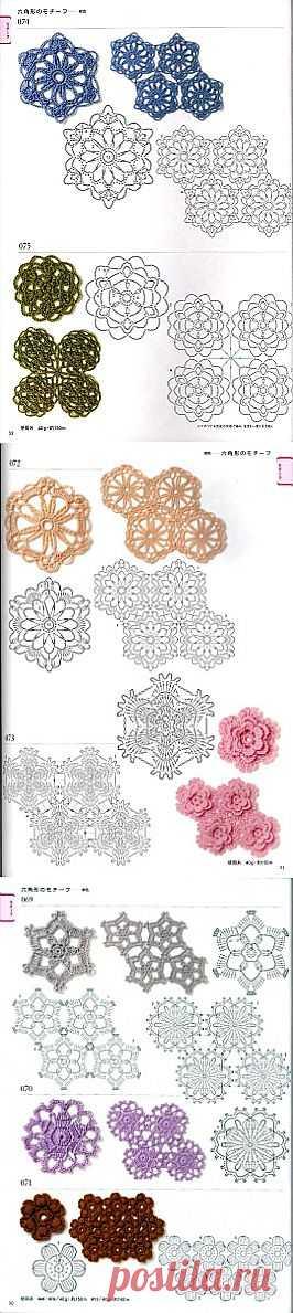 Tita Carré - Agulha e Tricot : Motivos em Crochet 7