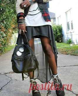 Создаем юбку модного силуэта