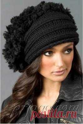 Design beret, we knit