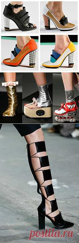 Модная женская обувь весна-лето 2013 - Фото