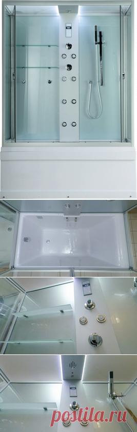 Душевая кабина Timo Lux TL-1505 148x82 купить в интернет-магазине Bydom.by (Код товара: 4718)